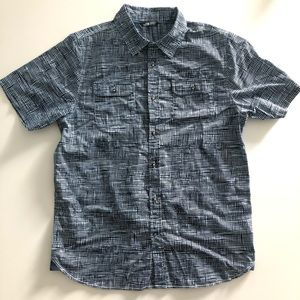 The North Face Print Short Sleeved Button Shirt
